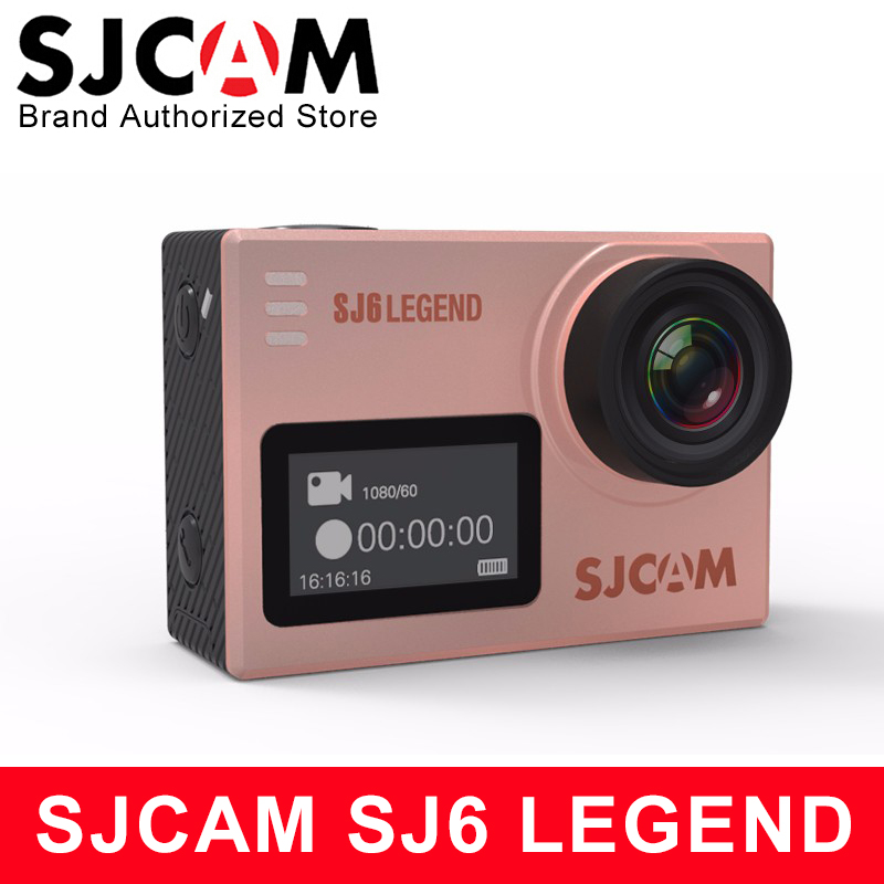 Original SJCAM SJ6 Legend Sports Action Camera 4K Wifi Sport DV Notavek 96660 Ultra HD Waterproof
