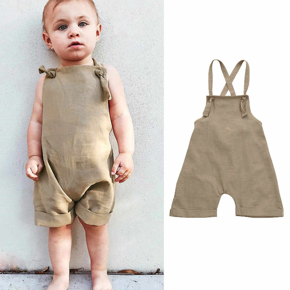 9fd6d565e Detail Feedback Questions about New Toddler Kids overalls Baby Boys ...