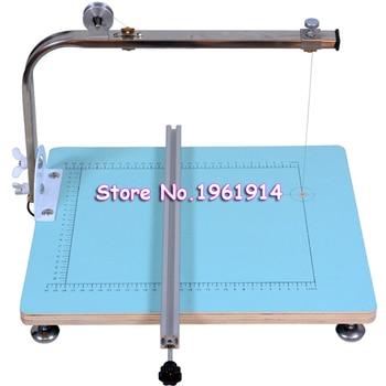 Free Shiping 220V 390x330mm Board Cutting Machine Working Stand Table Tool  Styrofoam Cutter CUTS FOAM KT