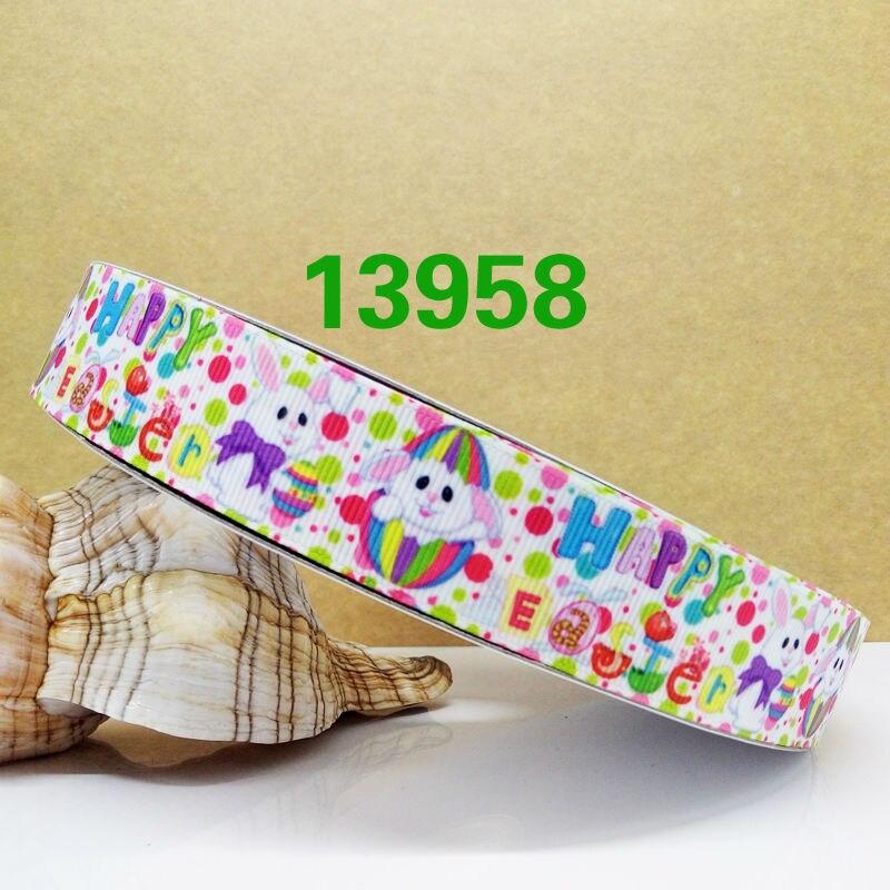 Бесплатная Доставка Новое поступление 2016 ленты Женские аксессуары для волос ленты 10 метров корсажные ленты с принтом 13958