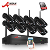 ANRAN 8CH CCTV System Wireless 1080P NVR 8PCS 2 0MP IR Outdoor Waterproof P2P Wifi Security
