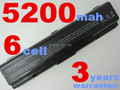 6 celdas pa3534u-1brs pa3533u-1brs batería del ordenador portátil 5200 mah para toshiba satellite a200 a205 a210 a215 a300 l300 m200