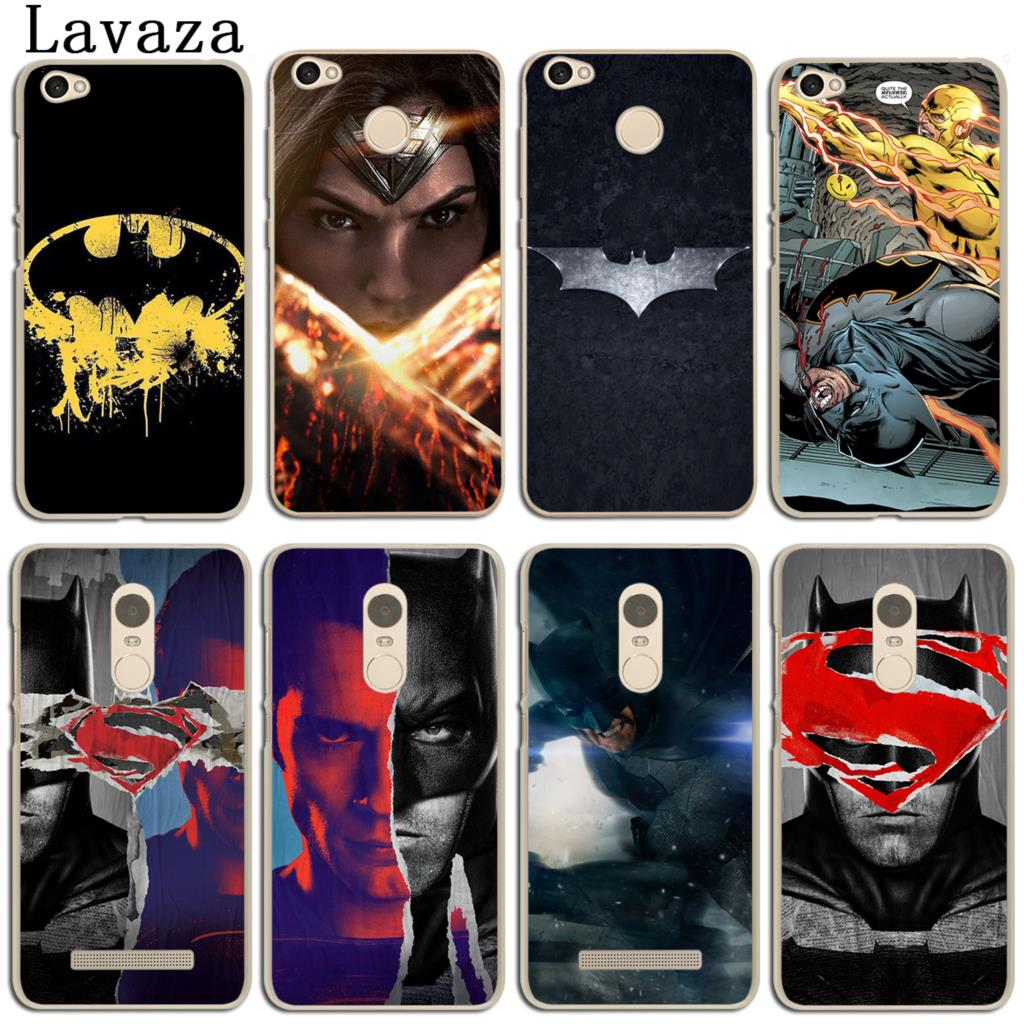 Lavaza Batman v Superman Dawn of Justice Case for Xiaomi Redmi Mi 8 SE A1 5 6 5X 5S Plus Note 5 Pro 3 3S 4 4X 4A 5A Prime Mi8