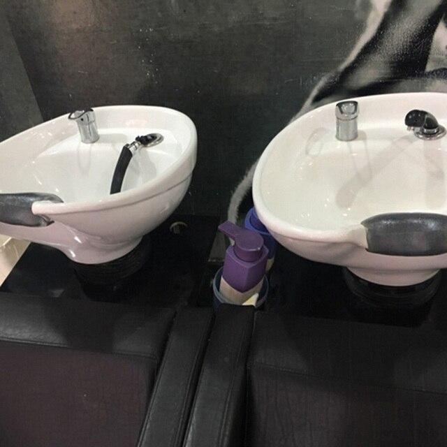 Için boyun yastığı Kuaförlük Yastık Spa Salon Dayanıklı Jel Yumuşak Saç Yıkama Yastık Silikon şampuan haznesi Lavabo Tutucu