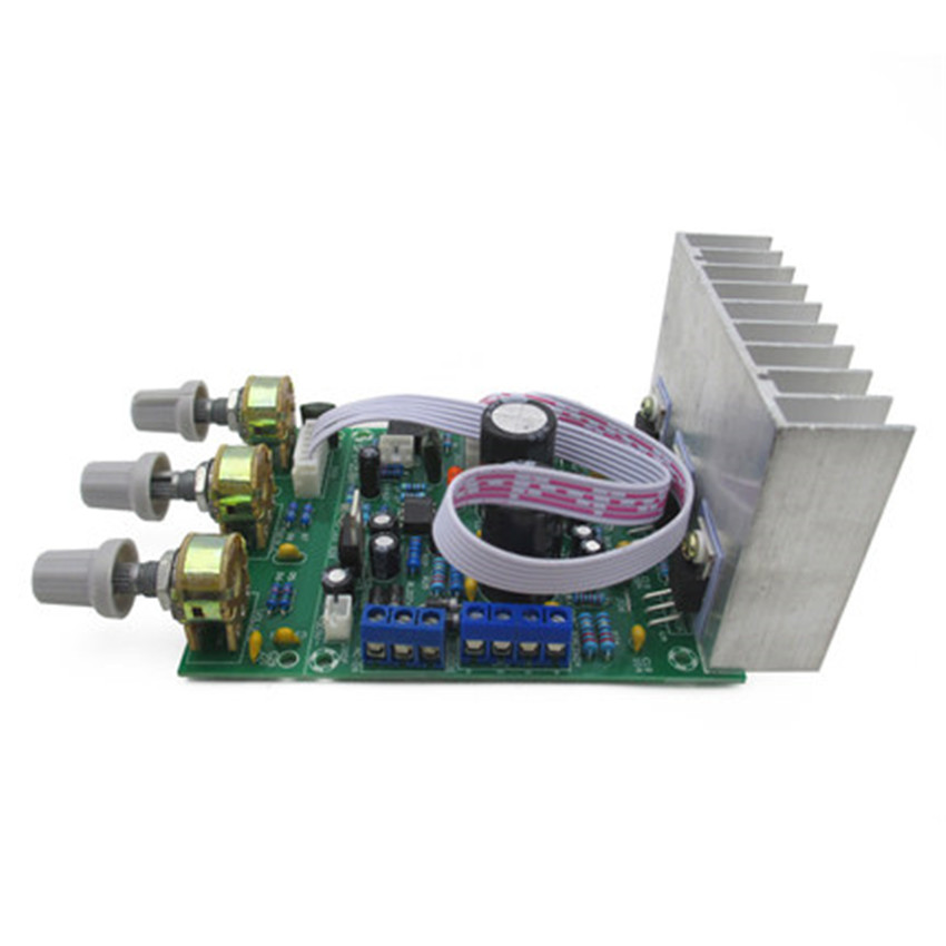 Heavy bass TDA2030A 2 1 3 channel finished font b subwoofer b font Board compatible LM1875