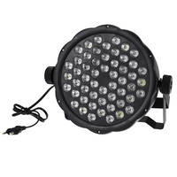 AC 110 220V 54 RGBW LEDs Professional Stage Light RGBW DMX512 DJ For Party Clubs Lamp Four Control Modes Commercial Lighting