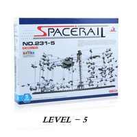 Niveau 5 (231-5) SpaceRail, Roller Coaster kit, Spacerail, DIY speelgoed bouwstenen, gratis Verzending
