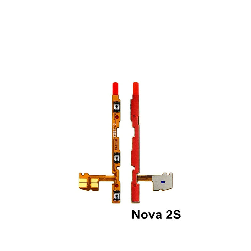 For Huawei Nova2S Honor V10 Side Button Flex Cable Power Volume Button FPC Wire Flex Cable Repair Parts
