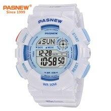 Pasnew Fashion Digital Watch Waterproof 30M Women Outdoor Sport wrist PSE-480GB