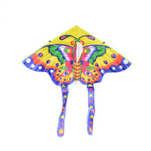 1 шт. 50 см складной воздушный змей традиционные бабочки воздушный змей средние Красочные бабочки стили отдыха на открытом воздухе игрушки для детей случайный