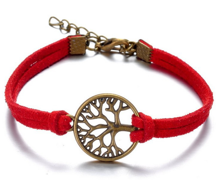 Christmas gifts New European style simple handmade bracelet Hope Tree bracelets red thread bracelet red string bracelet charm