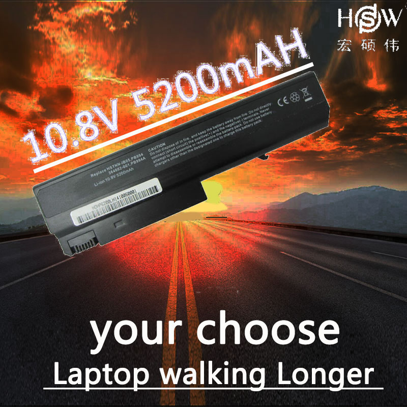 HSW Laptop Battery for HP COMPAQ Business Notebook NC6230 NC6300 NC6320 NC6400 NX5100 NX6130 NX6140 NX6300 NX6310 NX6315 NX6325 brand new laptop black keyboard 418910 041 pk130060a00 for hp compaq nc6400 germany