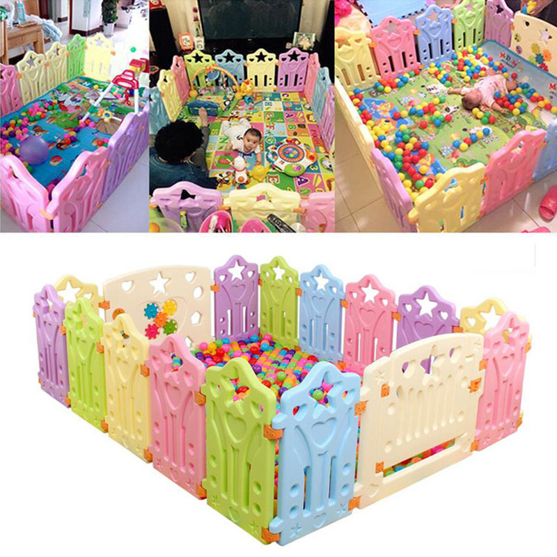 High Quality Baby Fence Playpens Fencing for Children Kids Baby Safety Fence Indoor Game Baby Playpens Fence Safety Play Yard
