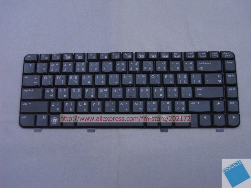 Brand New Black Laptop Notebook Keyboard 570755-281 573117-281 PK1303VBB07For HP Pavilion DV4 series Thailand100% compatiable us laptop keyboard without frame for hp for pavilion 15 p000 thailand ti 762529 281 9z n9hsq 703