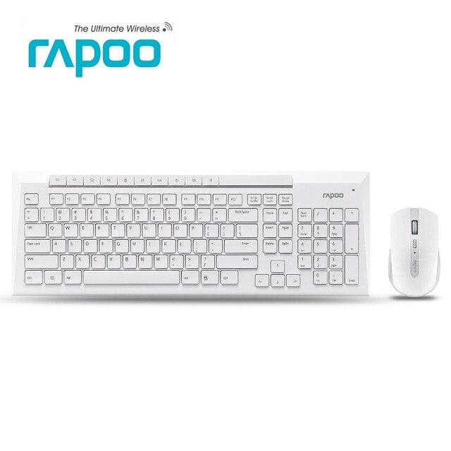 b84a488bfe0 Oringinal Rapoo X336/8200P 5.0G Wireless Optical Gaming Keyboard & Mouse Set  Waterproof USB