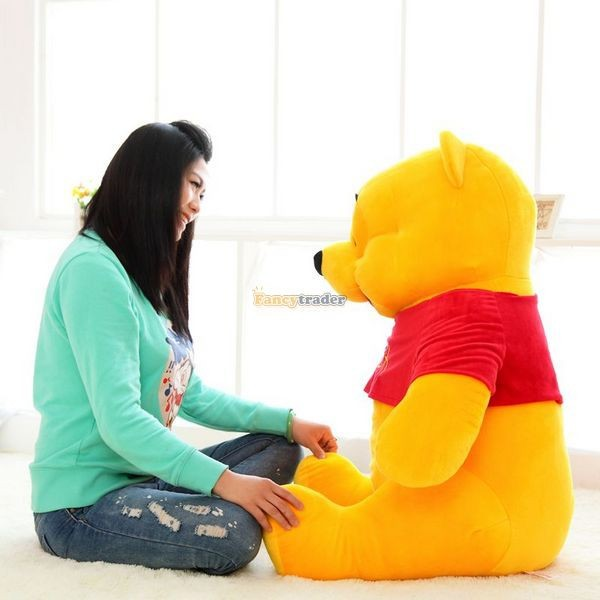 Fancytrader Biggest 39\'\' 100cm Giant Stuffed Cute Winnie Bear, Free Shipping FT50222 (7)