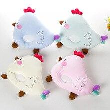Lovely Newborn Toddler Safe Anti Roll Baby Infant Pillow Sleep Head Positioner Head Almohadas Bebe Bedding travesseiro bebe