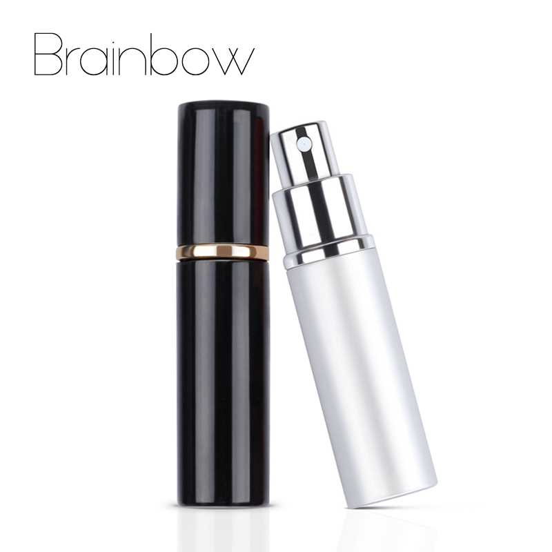 Brainbow 10ml Perfume Bottle Empty Refillable Bottle Portable Mini Travel Size Cosmetics Container Perfume lotion Spray Atomizer 10ml spray glass empty bottles 50pcs cylindrical perfume bottle cosmetic packaging container
