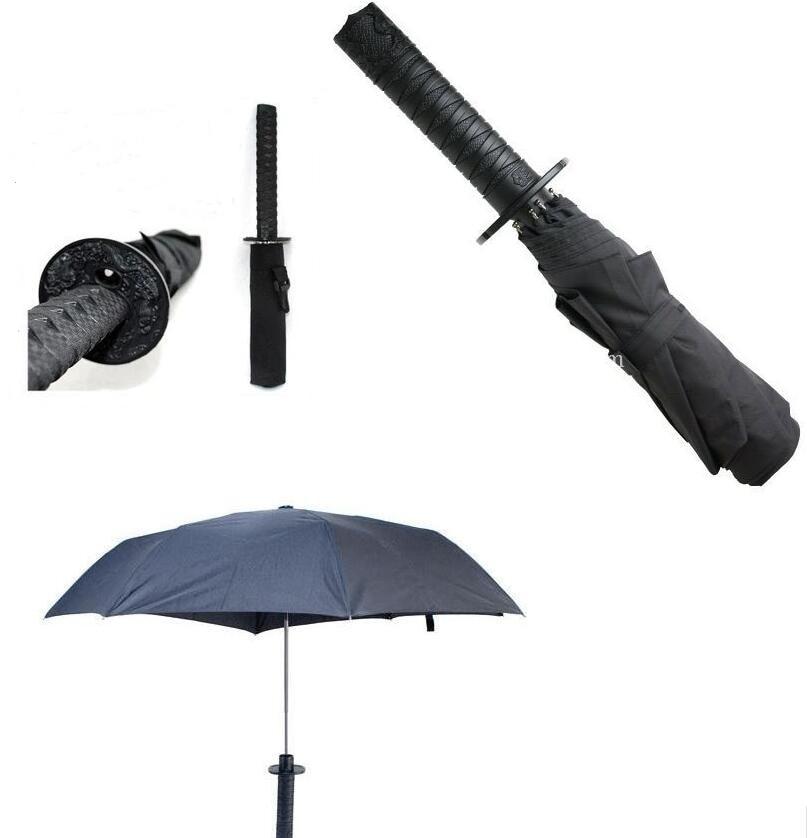 Hochwertige japanische Ninja Samurai Katana Schwert Regenschirm - Haushaltswaren - Foto 5