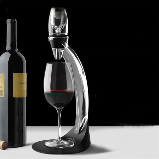 1Set Hot New Details about new 1pcs Magic Quick Decanter Wine Aerator Essential Aerating Pouch Filter Red 3Styles