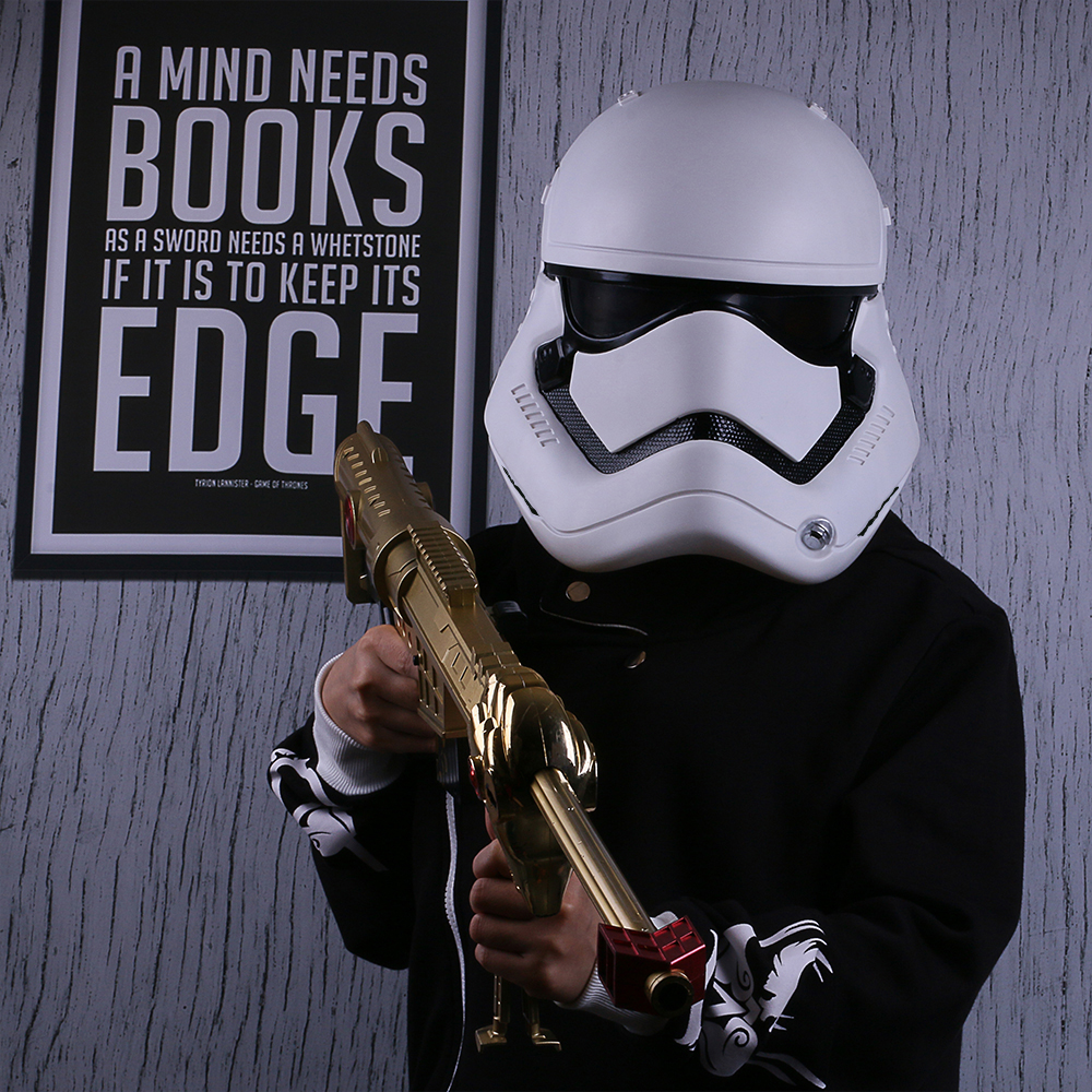 Star Wars The Force Awakens Stormtrooper Deluxe Helmet Adult Party Halloween Mask (3)