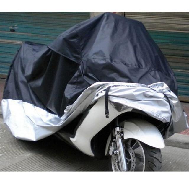 Motocicleta bicicleta poliéster impermeable UV protector Scooter cubierta M XL XXL XXXXL Chubasquero Moto