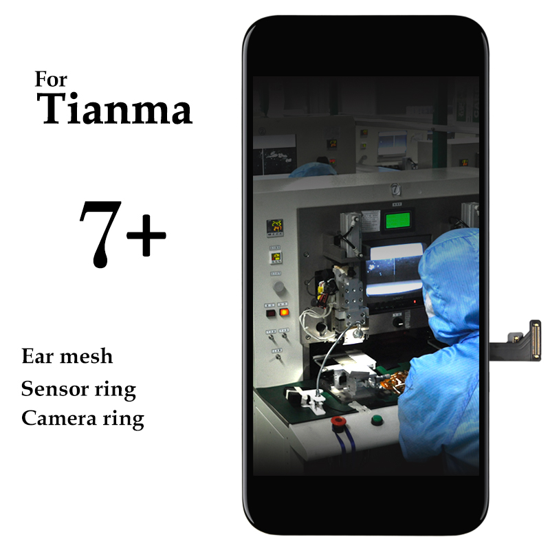 5pcs 5.5'' Tianma Black White Panel For iPhone 7 Plus LCD Screen With 3D Touch Digitizer Assembly For iPhone 7P / 7+ LCD Display-in Teléfono Móvil LCD pantallas from Teléfonos celulares y telecomunicaciones on AliExpress - 11.11_Double 11_Singles' Day 1