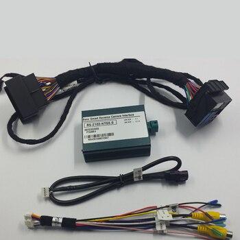 В автомобиль умный Реверсивный интерфейс комплект для Mercedes-Benz CLA 2015 с аудио 20 NTG5.0 Star1 включает фронтальную камеру и заднюю камеру