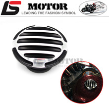 Motorcycle Black Fuel Gas Tank RC Vented Cap for Harley Sportster XL883 1200 X48 1996-2015 CNC Metal cover  stripe style