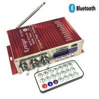 Kentiger HY-502S DC 12 V Mini Bluetooth Amplifikatörler Kulaklık Amp SD/USB FM Radyo Uzaktan Kumanda Ile Oynamak Için ev/Araba Dac
