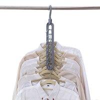 Multi-poort Ondersteuning Cirkel Kleerhanger Droogrek Multifunctionele Plastic Sjaal Kleerhangers Hangers Opslag Rekken
