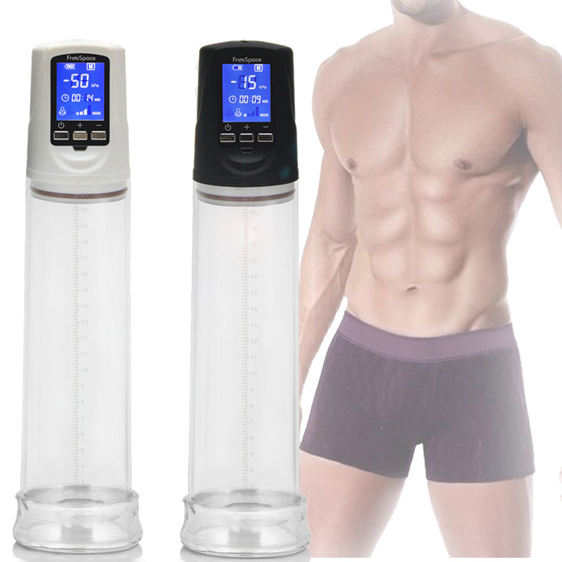 Penis Pump Powerful USB Rechargeable Automatic Penis Enlarger Pump LED Penis Pumps & Enlargement Sex Toys For MenPenis Pump Powerful USB Rechargeable Automatic Penis Enlarger Pump LED Penis Pumps & Enlargement Sex Toys For Men