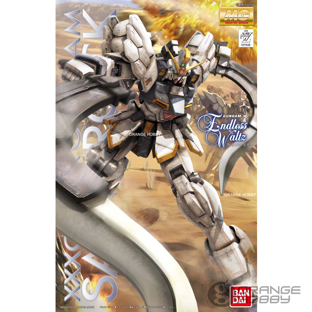 Bandai MG 1/100 XXXG-01SR Gundam Sandrock Ver.EW Mobile Suit Gundam Assembly Model Kits ohs bandai mg 155 1 100 rx 0 unicorn gundam 02 banshee mobile suit assembly model kits oh