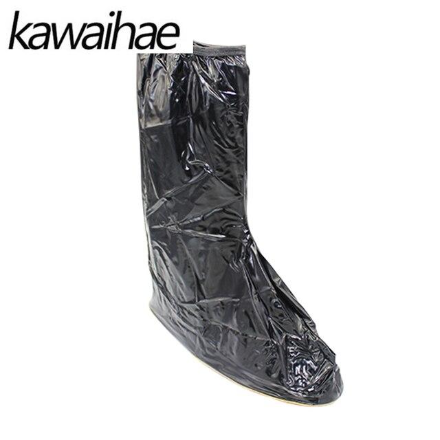 Rain Shoes Covers Women's Waterproof Reusable Slip-resistant Rain Boot Brand Kwaihae 887
