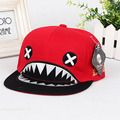 New 4 Colors Unisex Baseball Hippop Cap running man Fashion shark Hat Snapback Visors