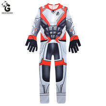 Kids Costumes Endgame Quantum Realm Cosplay Bodysuits Superhero Costume Jumpsuit Halloween Iron Man  for Boys Zentai