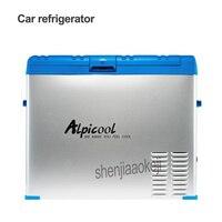 Портативный 50L Автомобильный/бытовой холодильник морозильник мини холодильник Компрессор охладитель коробка инсулин лед камера глубина о
