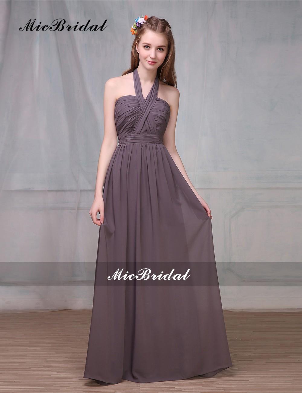 11cc3263f7 Micbridal dama de honor Junior vestidos Vestido Madrinha Vestido ...