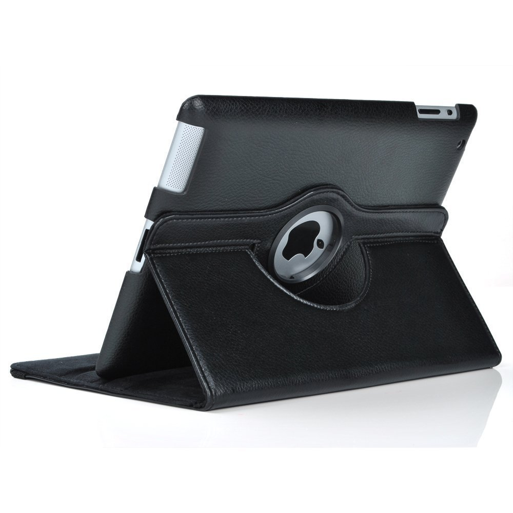 New for iPad mini 1 mini 2 mini 3 Case 360 Rotation Flip Stand A1432 A1454 Protective Cover for iPad mini 1 2 3 Smart Cover (5)