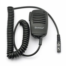 Original WOUXUN Handheld Microphone Mic Speaker for Walkie Talkie KG-UVD1P KG-UV6D KG-UV8D BAOFENG UV-5R UV-B6 BF-888S CB Radio