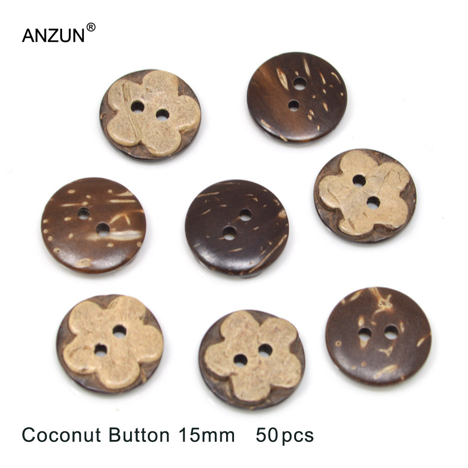 50pcs BROWN Embellishments Pearls Gems Cabochons Buttons Scrapbooking Craft