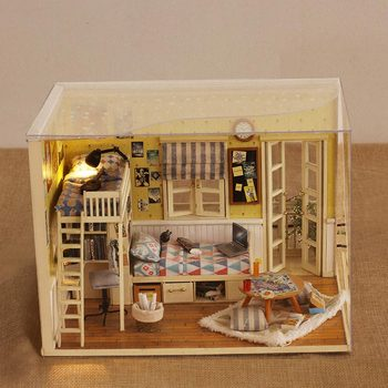 I and my companion DIY Cottage Warm Series Cottage Puzzle Giving Creative Toys for Men and Women