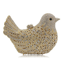 Evening Bag Crystal Bird