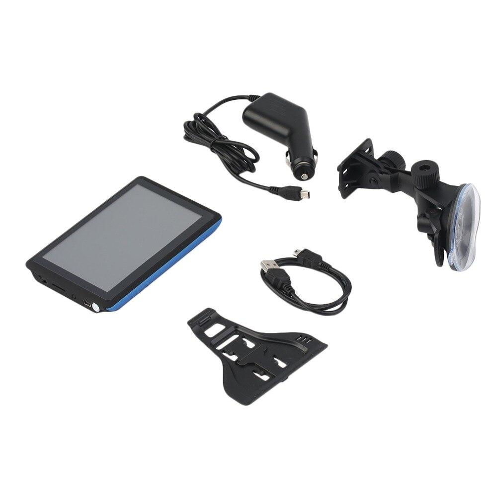 5 дюймов HD Дисплей автомобили грузовых автомобилей gps Sat Nav Навигация Системы 8 г автомобильной навигаторы бесплатную карту скачать ...