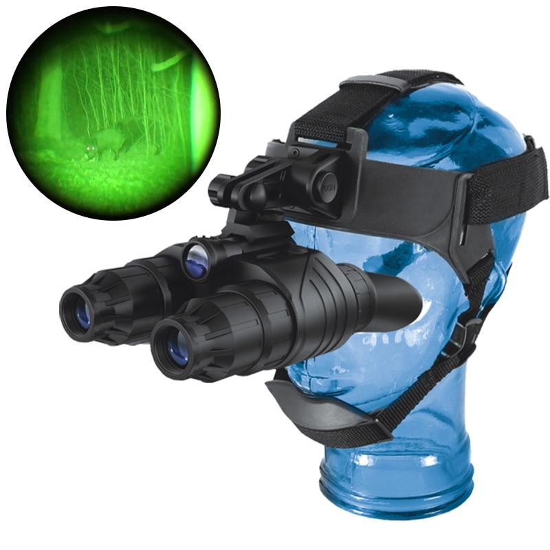 Pulsar NV Occhiali Bordo GS1x20 75095 dispositivo di visione notturna occhiali binocolo Copricapo visione notturna a raggi infrarossi portata di caccia tattico