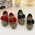2015 new fashion leopard print princess single shoes leisure girls school shoes children shoes girls sheos