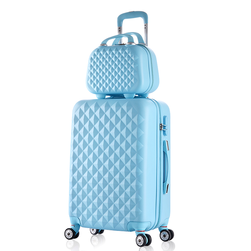 Spinner Trolley-Case Password-Luggage Travel Woman Cosmeticbag Fashion 24-Inches Hot
