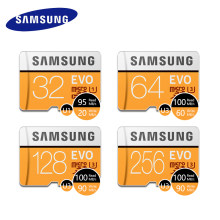 100% oryginalny SAMSUNG Micro SD karty 64 GB u3 karta pamięci EVO Plus 64 GB Class10 karty TF C10 95 mb/s mikro sd SDXC UHS-1 4K go pro(China)
