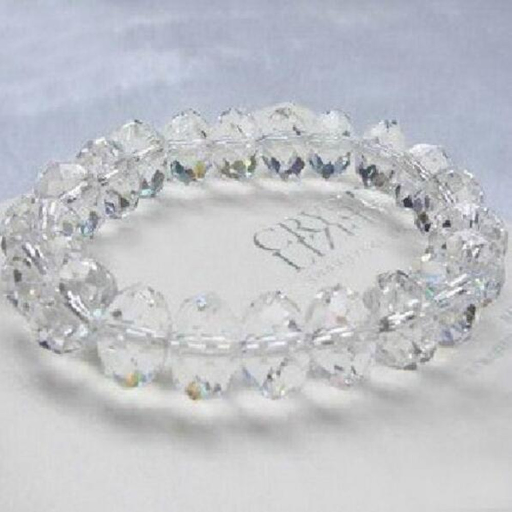 Hot Sale Crystal Rondelle Beads Clear 4X6mm/6X8mm Glass Loose Spacer Beads For Home Wedding Decoration