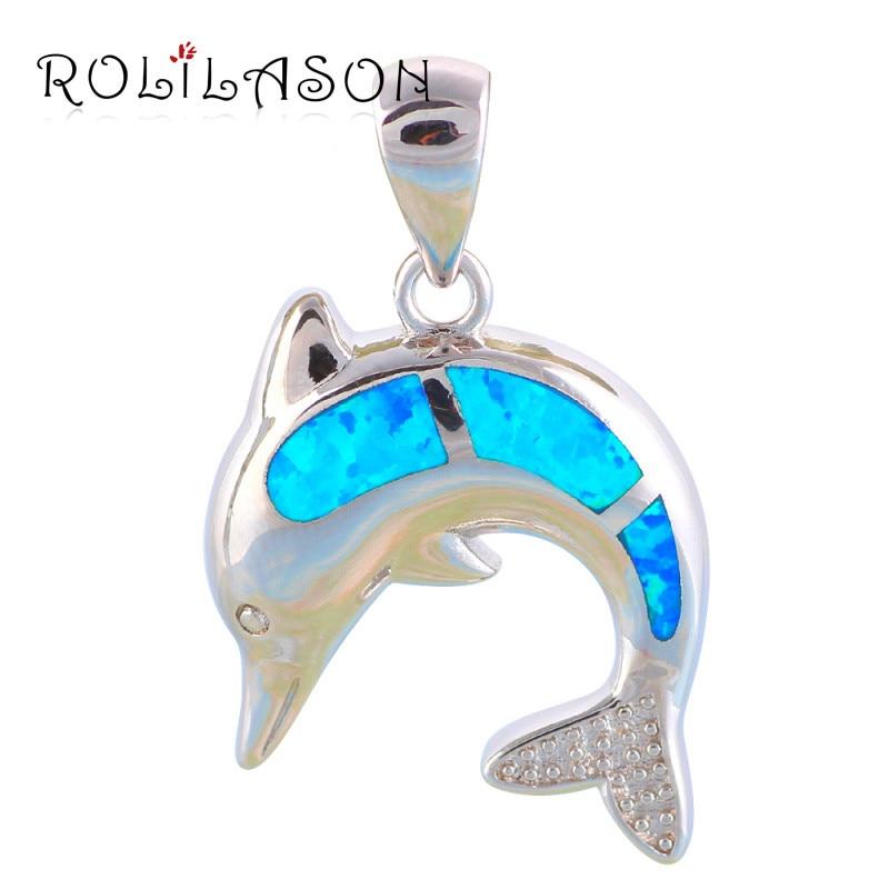 Blauer Feueropal des heißen Verkaufs der Qualitäts reines Silber 925 Sterlingsilber-Halskettenanhänger herrliche Schmucksachen für Frauen SP8
